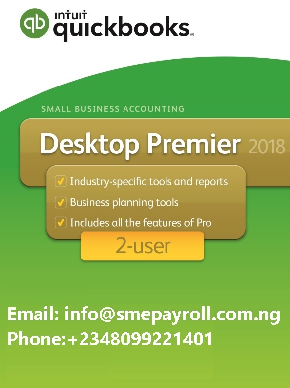 Best price QuickBooks Premier 2018 2 user in Nigeria